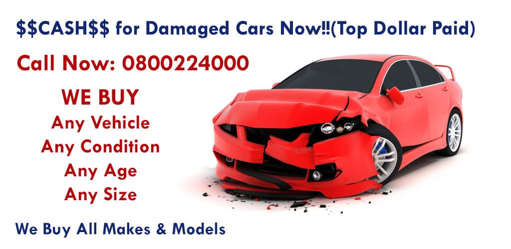 Cash for Damaged Car