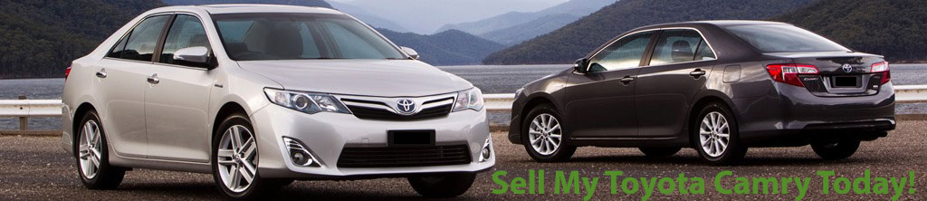 Sell My Toyota Camry - Cash for Toyota Camry - Toyota Camry Buyers